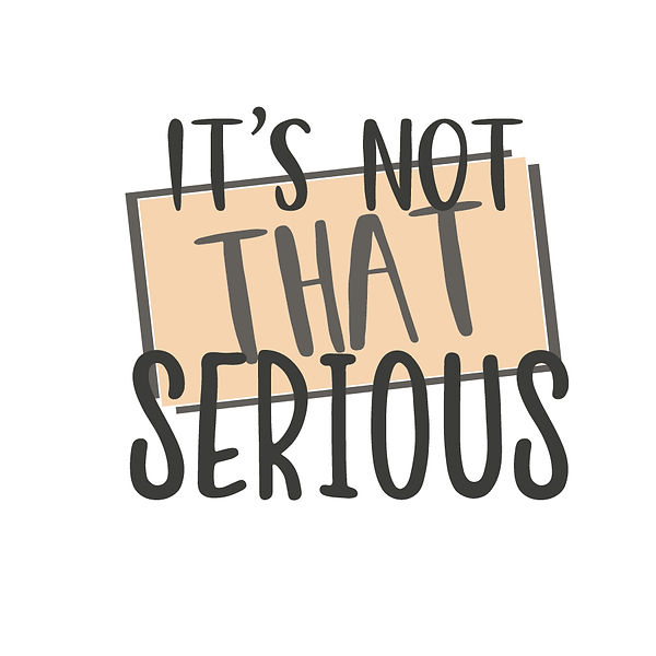 It's not that serious Png   Free Printable Slay & Silly Quotes T- Shirt Design in Png