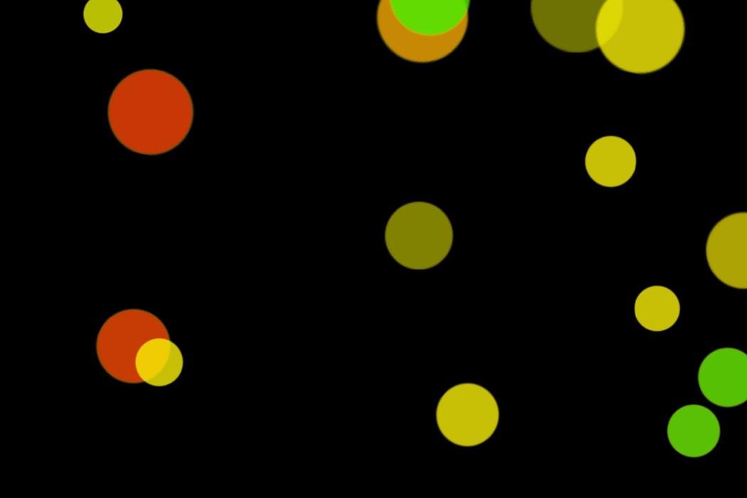Beautiful City Light Bokeh Overlay on black background   Free Download