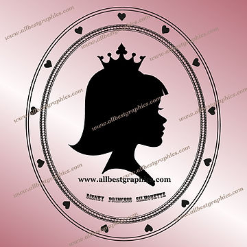 I'm a Disney Princess Eps Png Svg Dxf Clipart | Disney Cartoons
