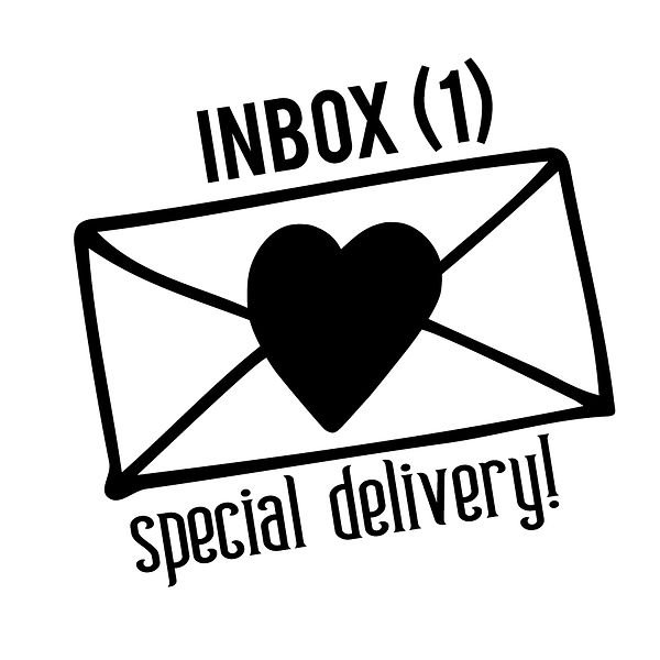 Inbox  (1)special delivery! | Free download Iron on Transfer Funny Quotes T- Shirt Design in Png