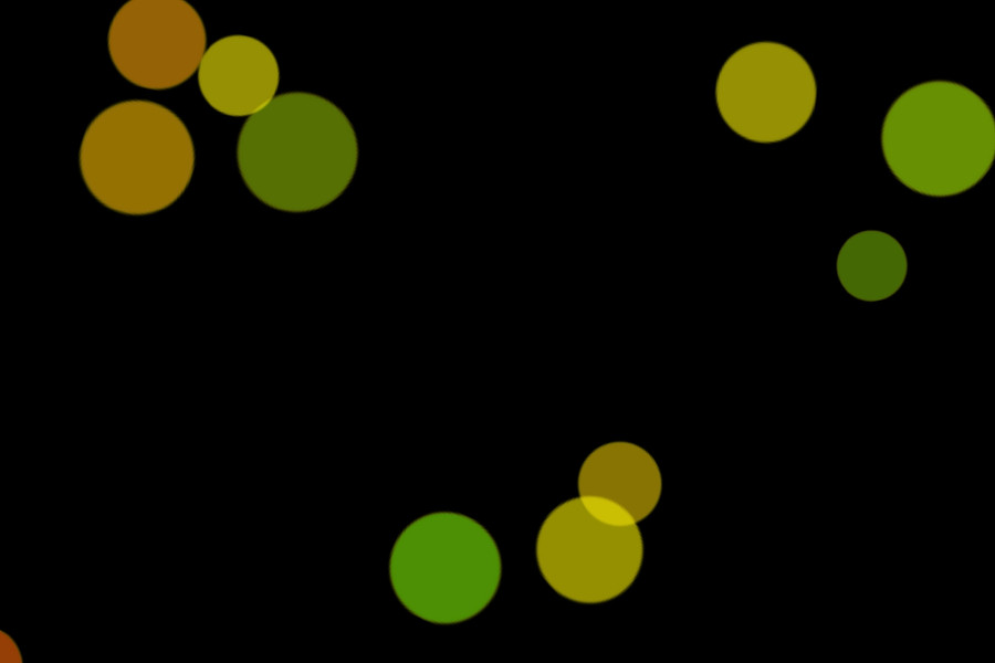 Colorful Festival Light Bokeh Clip Art on black background   Freebies