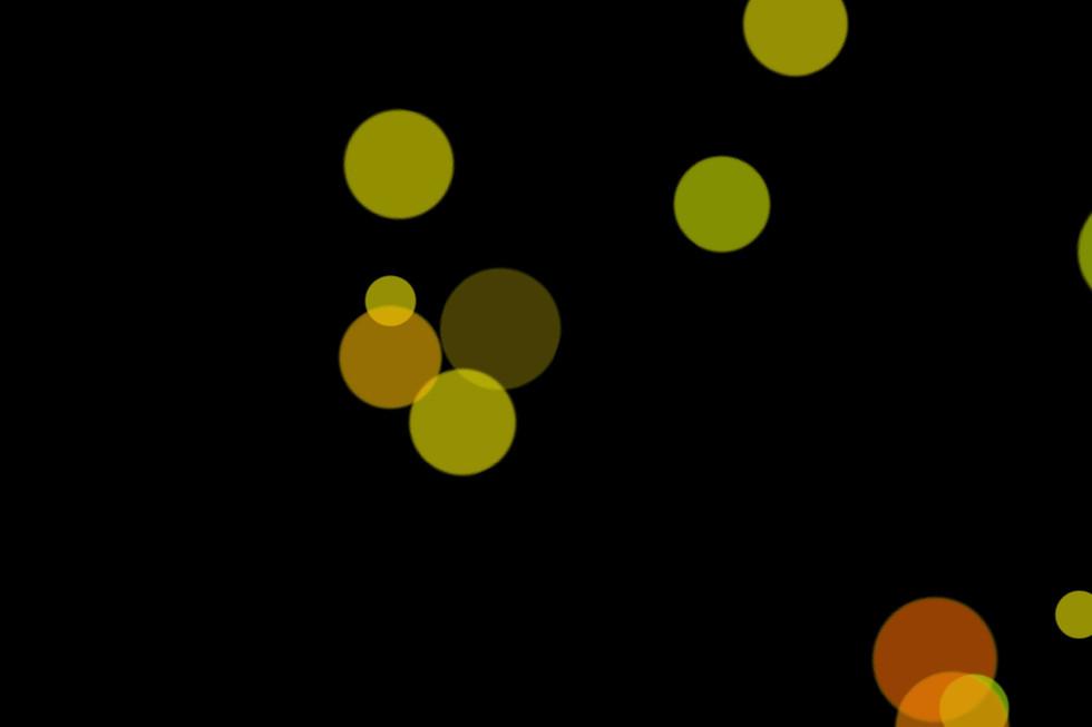 Gorgeous Night Light Bokeh Overlay on black background   Free Overlays