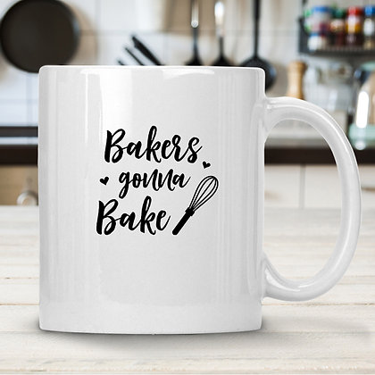 Bakers Gonna Bake | Slay and Silly Kitchen Signs for Silhouette Cameo and Cricut