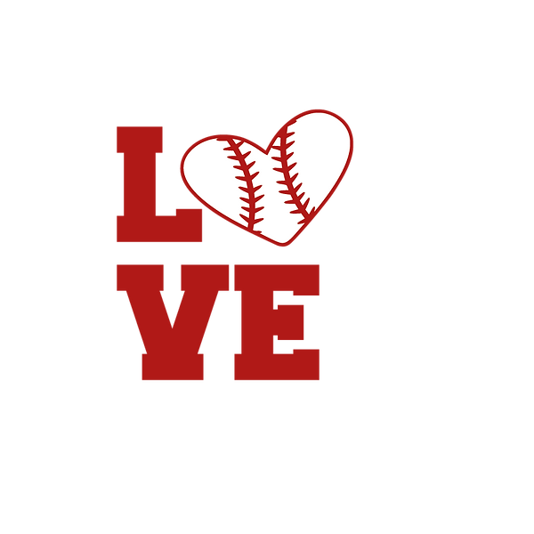 Love baseball | Free Iron on Transfer Cool Quotes T- Shirt Design in Png