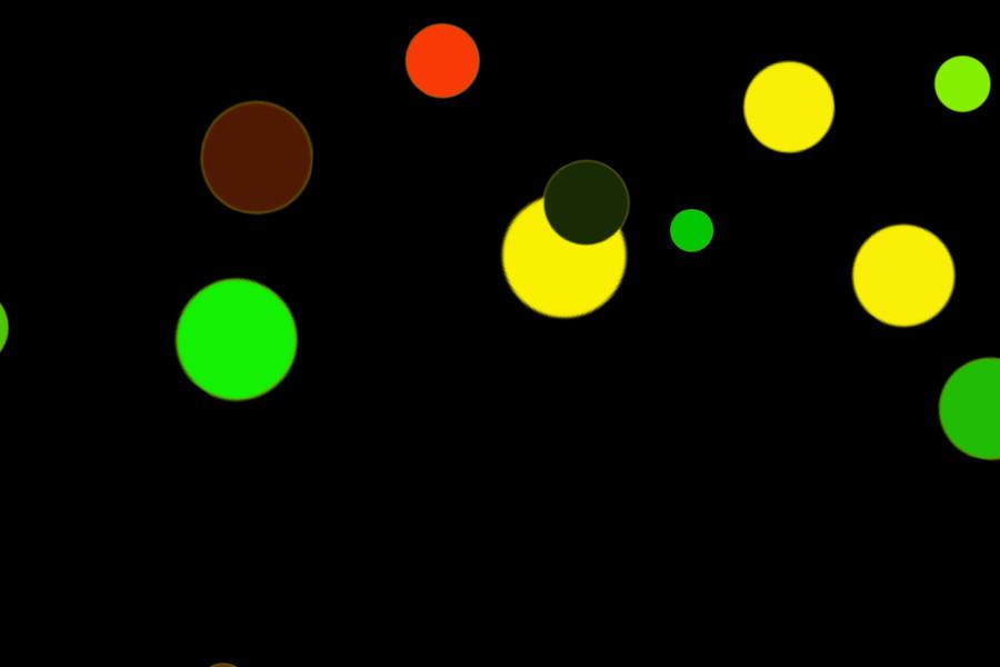 Beautiful Holiday Light Bokeh Texture on black background   Photoshop Overlays