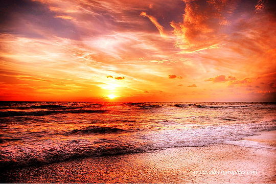 Gorgeous fluffy sunset overlay | Ps Photo Overlays