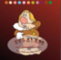 Disney Clipart | Sneezy - Snow White and the Seven Dwarfs Svg Eps Dx