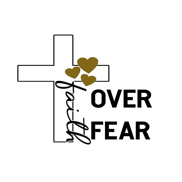 Faith over fear  Png | Free Iron on Transfer Funny Quotes T- Shirt Design in Png