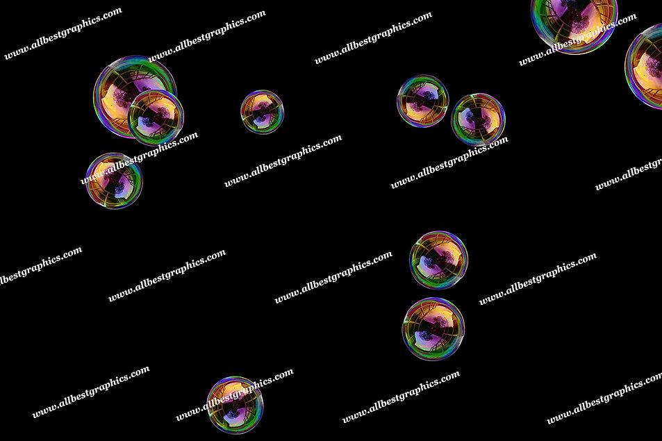 Dreamy Air Bubble Overlays   Stunning Photoshop Overlay on Black