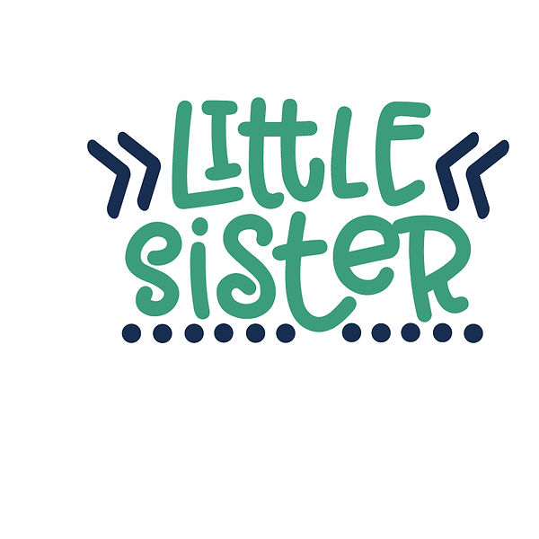 Little sister dots Png | Free download Printable Cool Quotes T- Shirt Design in Png