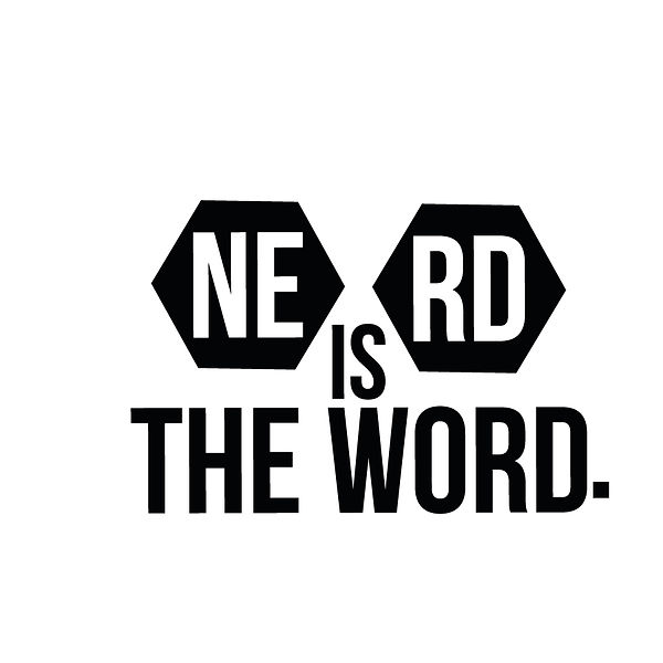 Ne rd is the word | Free Printable Sarcastic Quotes T- Shirt Design in Png