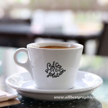 Coffee is solution   Sassy Coffee QuotesCut files inSvg Dxf Eps