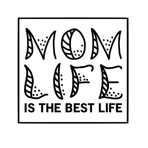 Mom life is the best life Png | Free Iron on Transfer Funny Quotes T- Shirt Design in Png