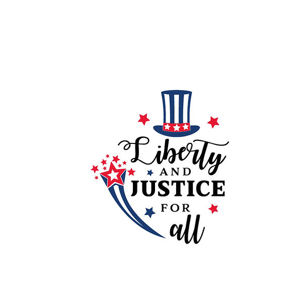 Liberty and justice for all 4th of July Png | Free Printable Sarcastic Quotes T- Shirt Design in Png