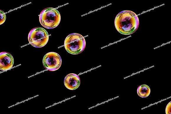 Dreamy Soap Bubble Overlays   Stunning Photoshop Overlay on Black