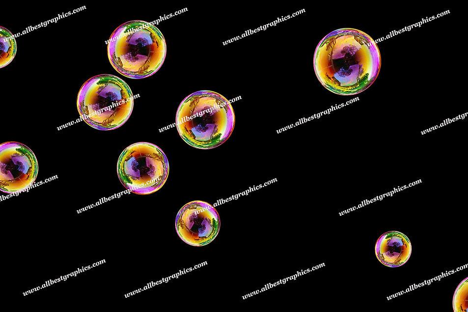Dreamy Soap Bubble Overlays | Stunning Photoshop Overlay on Black