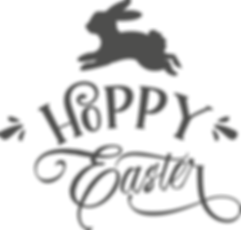 Hoppy Easter | Happy Easter and Bunny Quotes & SignsCut files inDxf Eps Svg