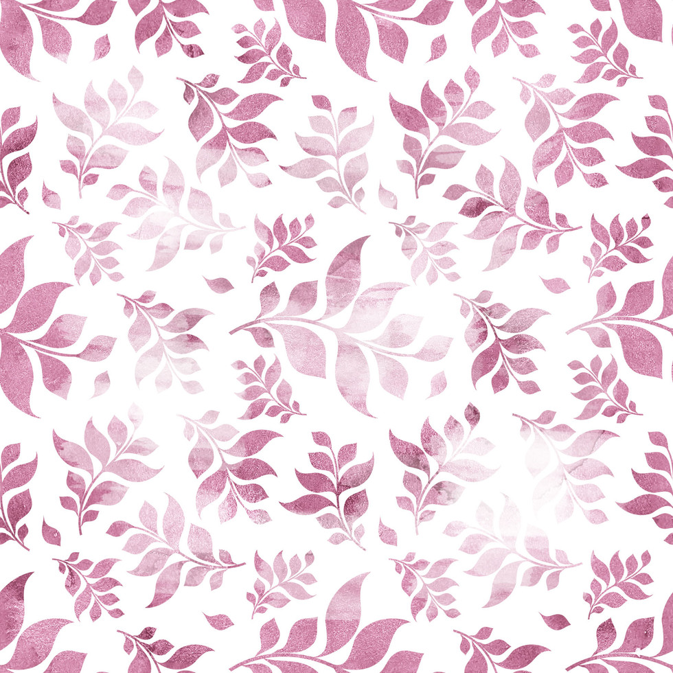 Royal watercolor digital paper with pastel flowers | Scrapbook Paper