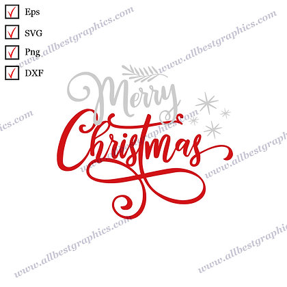 Merry Christmas | The Best Funny Sayings Ready-to-Use Christmas Design Cut files