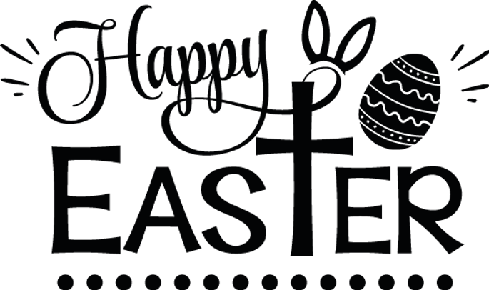 Happy Easter | Happy Easter and Bunny Quotes & Signs for Silhouette Cameo