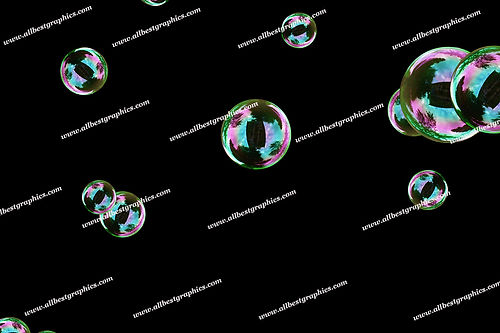 Beautiful Bathroom Bubble Overlays   Incredible Photo Overlays on Black