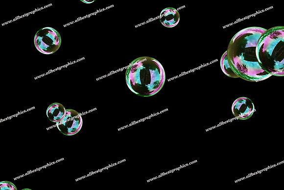 Beautiful Bathroom Bubble Overlays | Incredible Photo Overlays on Black