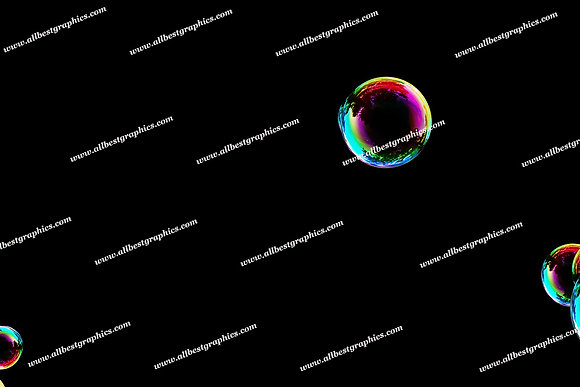 Adorable Realistic Bubble Overlays | Unbelievable Photo Overlays on Black