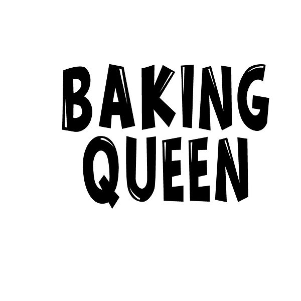 Baking queen | Free Iron on Transfer Slay & Silly Quotes T- Shirt Design in Png