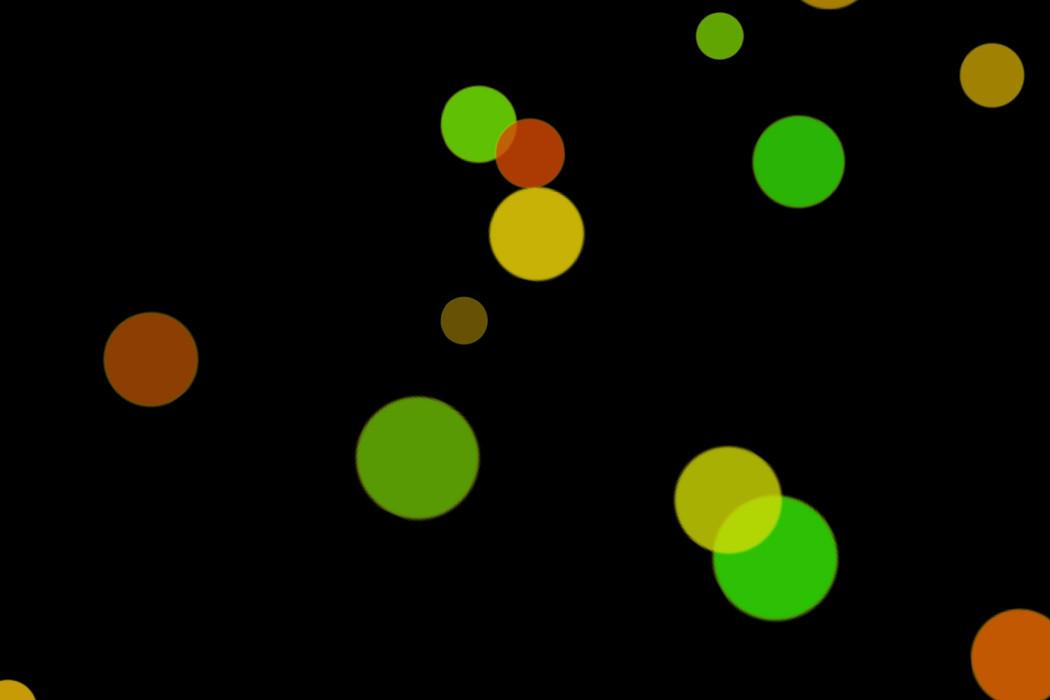 Beautiful Night Light Bokeh Effect on black background | Free Download