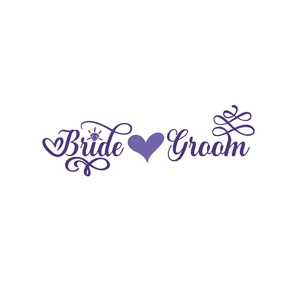 Bride and groom   Free download Iron on Transfer Cool Quotes T- Shirt Design in Png