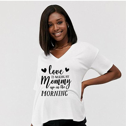 Love is Waking My Mommy | Best Mom Quotes & SignsCut files inSvg Dxf Eps