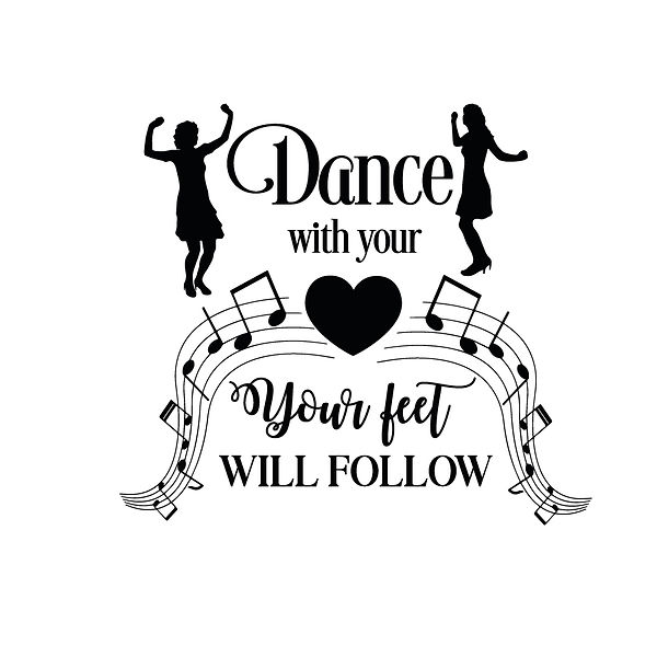 Dance with your heart Png | Free download Iron on Transfer Sarcastic Quotes T- Shirt Design in Png