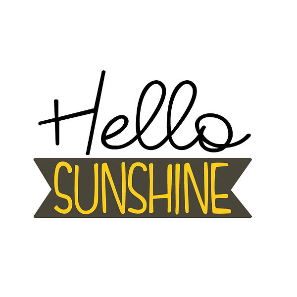Hello sunshine Png   Free download Iron on Transfer Funny Quotes T- Shirt Design in Png