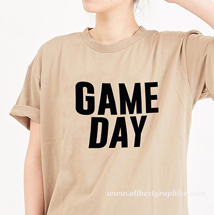 Game day vibes | Best T-Shirt Quotes Cut files in Svg Dxf Eps