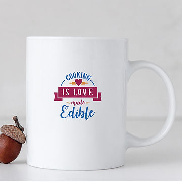 Cooking is Love Edible | Best Kitchen Sign Cut files in Svg Dxf Eps