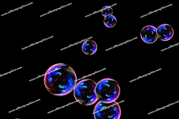Awesome Blowing Bubble Overlays | Incredible Photoshop Overlays on Black