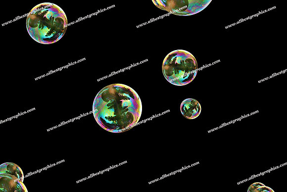 Awesome Air Bubble Overlays | Incredible Photoshop Overlay on Black