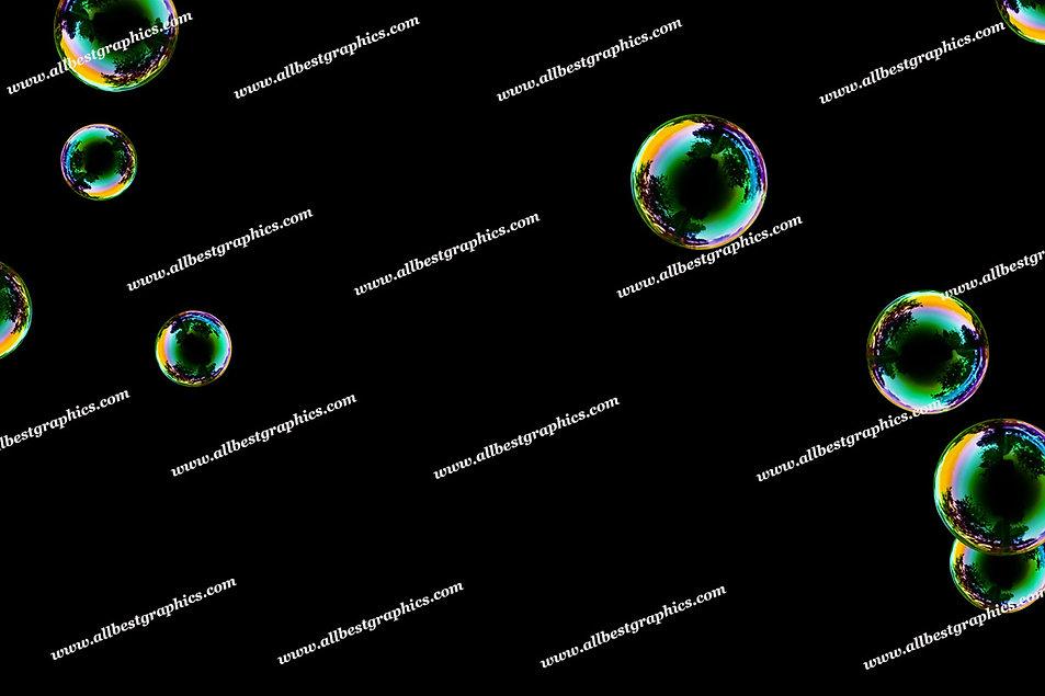 Adorable Realistic Bubble Overlays | Incredible Photoshop Overlay on Black