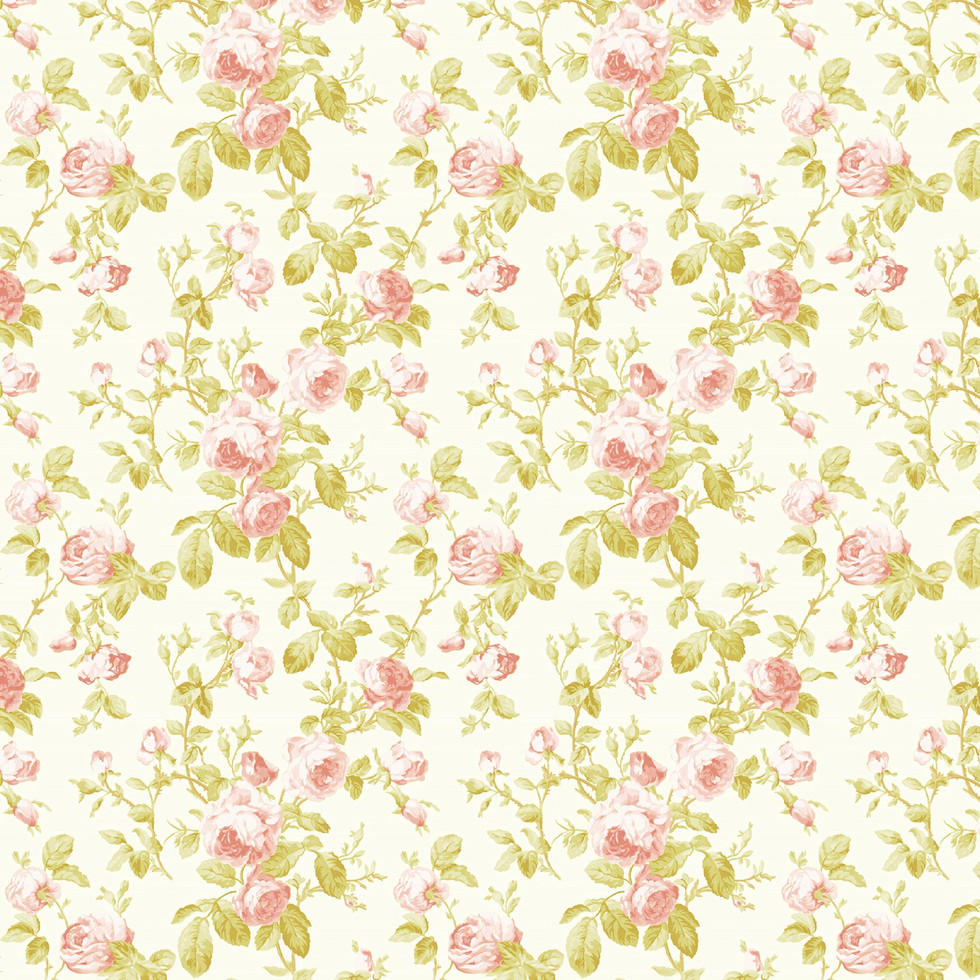 Vintage peony digital paper with seamless design   Party Digital Papers