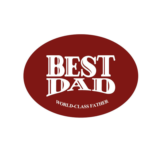 Best dad world class father | Free download Iron on Transfer Cool Quotes T- Shirt Design in Png