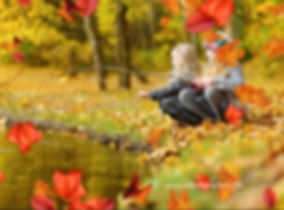 Falling Leaves Photoshop Action & Overlays