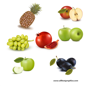 Gorgeous Ripe & Exotic Fresh Farm Fruits and Vegetables | Food clipart png free download