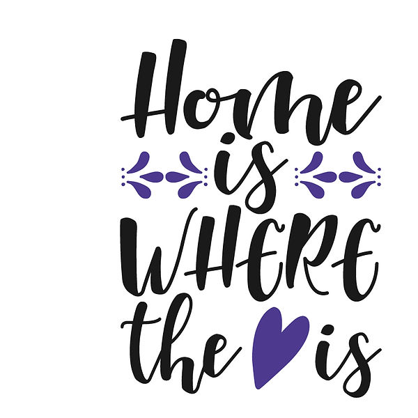 Home is where Png | Free Iron on Transfer Slay & Silly Quotes T- Shirt Design in Png