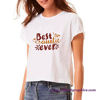 Best Auntie Ever   Cool Quotes & Signs Cut files in Dxf Svg Eps