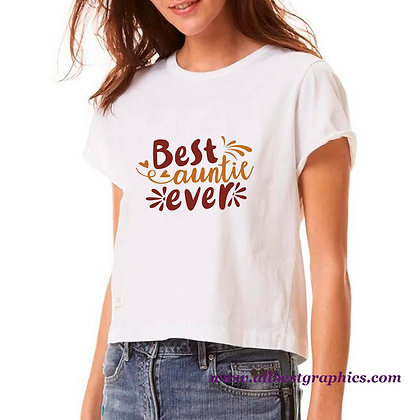 Best Auntie Ever | Cool Quotes & Signs Cut files in Dxf Svg Eps