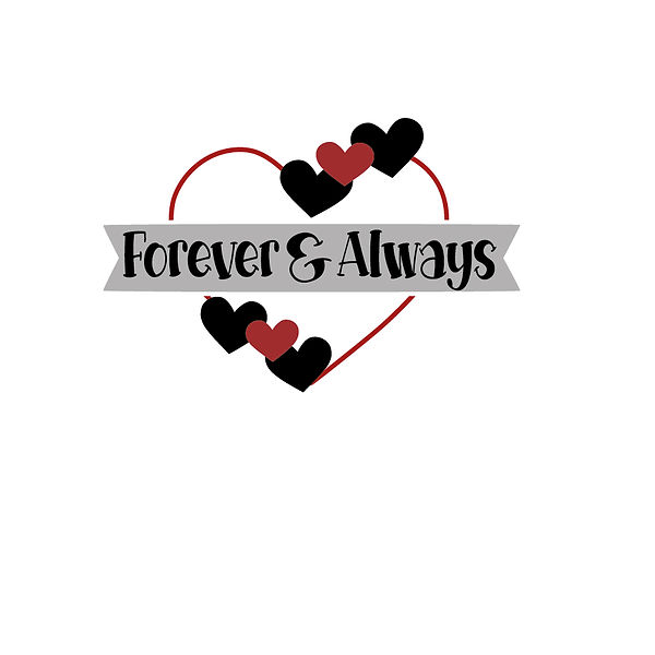 Forever and always Png | Free download Iron on Transfer Sassy Quotes T- Shirt Design in Png
