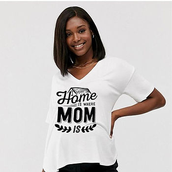 Home is Where Mom Is | Best Mom Quotes & SignsCut files inSvg Dxf Eps