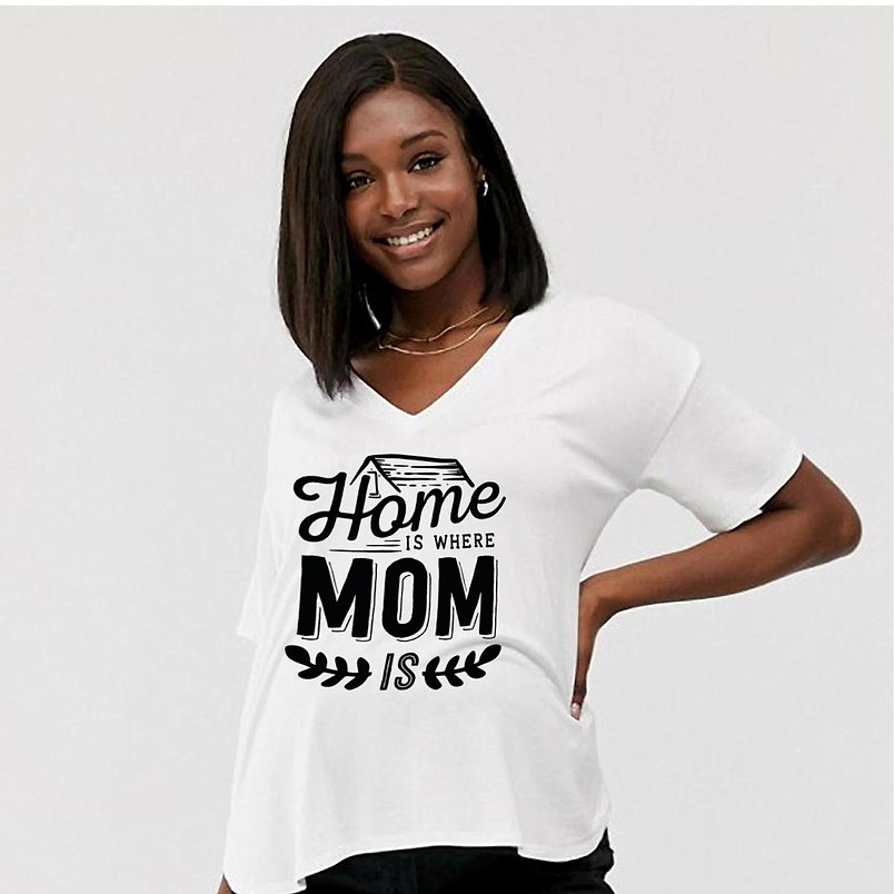 Home is Where Mom Is | Best Mom Quotes & Signs Cut files in Svg Dxf Eps