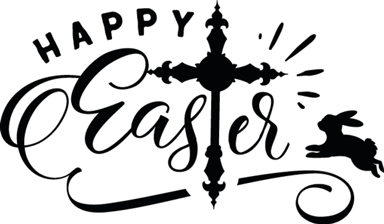 Happy Easter   Best Easter and Bunny Quotes & SignsCut files inSvg Dxf Eps