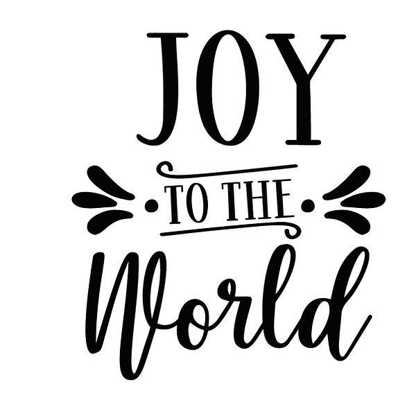 Joy to the world Png | Free download Printable Cool Quotes T- Shirt Design in Png